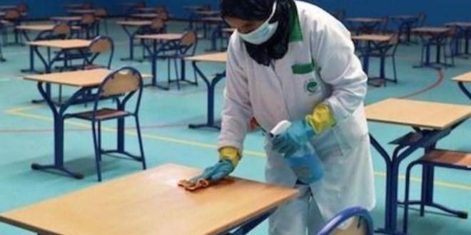 وزارة التربية تكشف عن البرتكول الخاص بالاجراءات الوقائية و الصحيةفي مراكز إجراء شهادة البكالوريا و التعليم المتوسط 2020