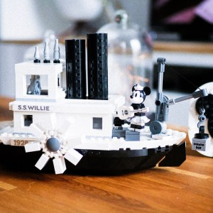 Steamboat Willie en Lego