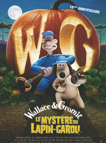 Affiche film Wallace et Gromit - Le Mystère du Lapin-Garou