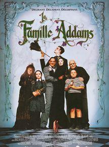 Affiche film La Famille Adams
