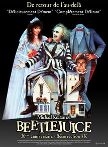 Affiche film Beetlejuice