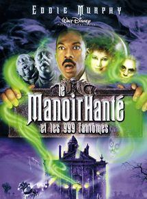 Affiche film Le Manoir Hanté et les 999 fantômes