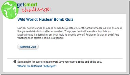 ¿Cuanto sabes de bombas nucleares?
