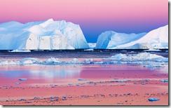 Icebergs in Disko Bay, Greenland