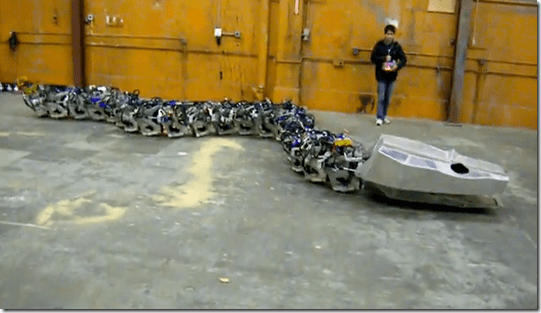 [video] La serpiente robot…