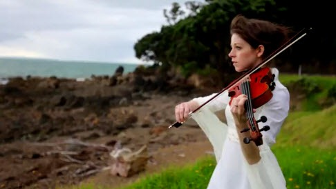 """Mix de la musica de """"El Señor de los anillos"""" con violin"""