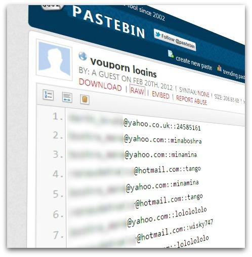 Miles de e-mails y contraseñas de usuarios de YouPorn robados de sus servidores