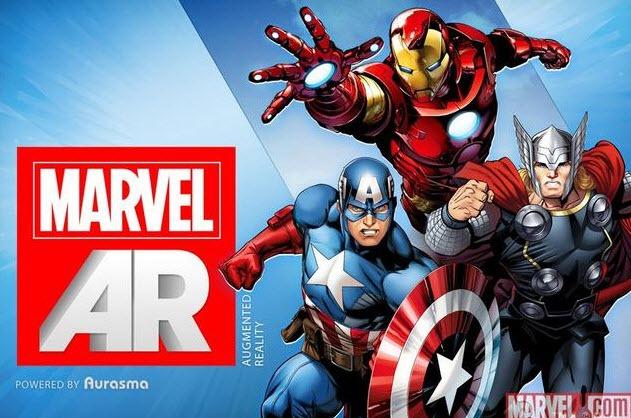 Marvel lanzará una línea de comics con realidad aumentada