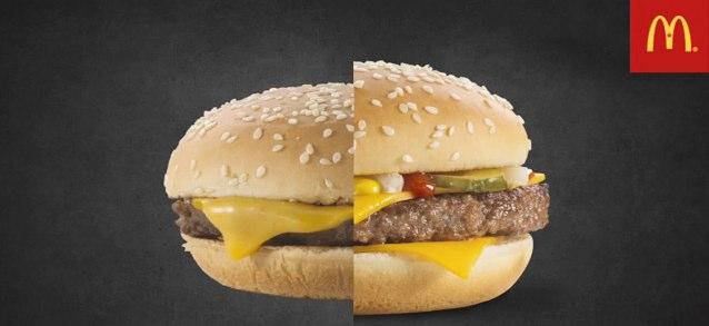 ¿Por qué nuestra hamburguesa no se ve como la de la foto?