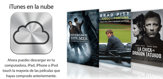 iTunes Movies in the cloud ahora disponible para 37 países
