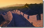落日时的长城,中国 (Great Wall at Sunset, China)