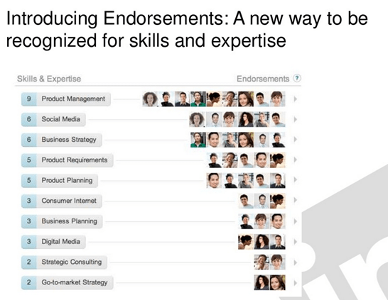 linkedin endorsements - unpocogeek.com