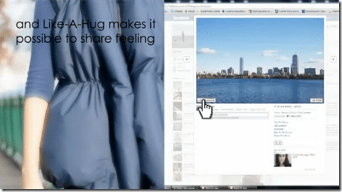A Jacket That Hugs You For Getting Facebook _Likes_ - unpocogeek.com