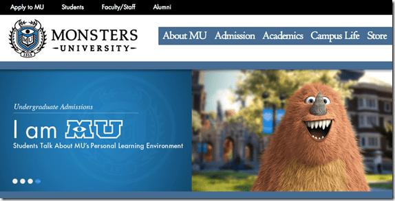 Monsters University - unpocogeek.com