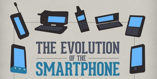 ¡The Evolution Of The Smartphone [Infographic] - unpocogeek.com