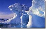 Sculpted ice, Antarctica