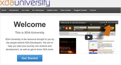 XDA University, para aprender todo sobre Android