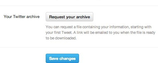 twitter new archive download -1- unpocogeek.com