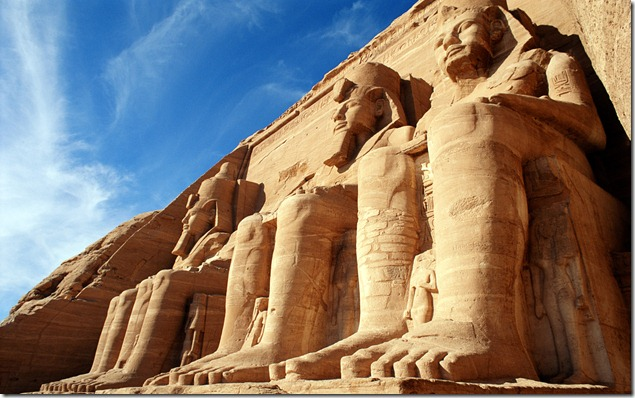Temple of Ramesses II, Abu SImbel, Aswan, Egypt