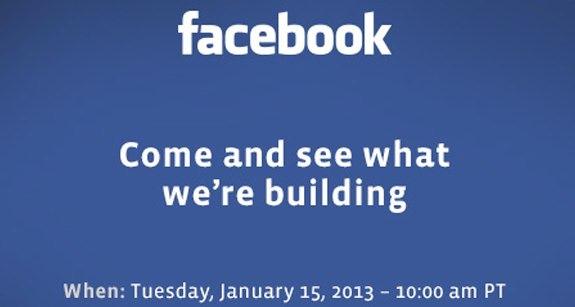 Facebook prepara un evento especial para el 15 de Enero