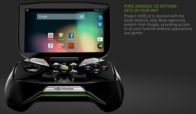 Nvidia presenta su consola portátil…