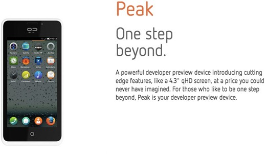 peak phone with firefox os - unpocogeek.com