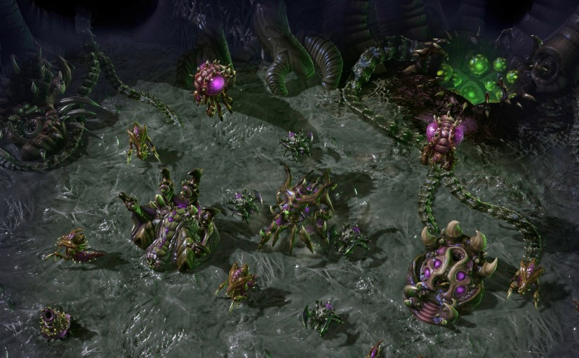 Starcraft 2: Heart of the Swarm permitirá editar la UI en modo espectador