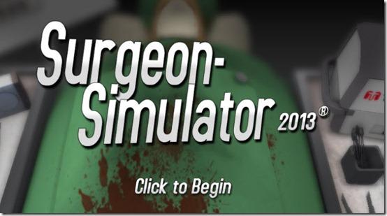 surgeon sumulator 2013 global game jam - unpocogeek.com