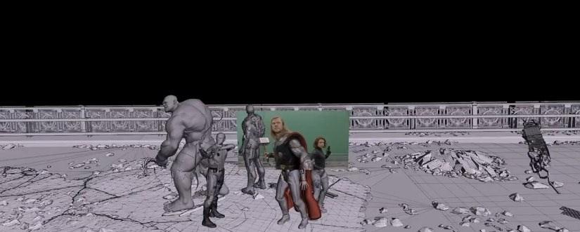 """Detrás de los efectos especiales de """"The Avengers"""""""
