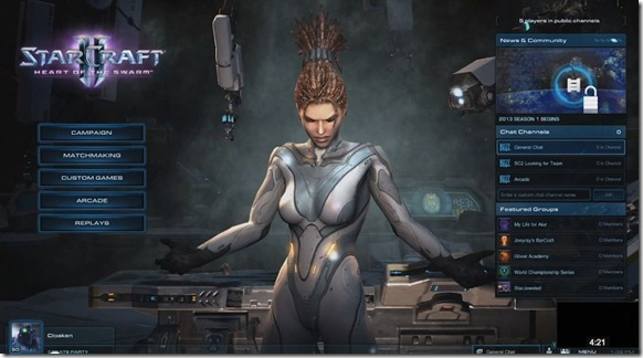 StarCraft II_ Heart of the Swarm Preview -- Social Features - unpocogeek.com