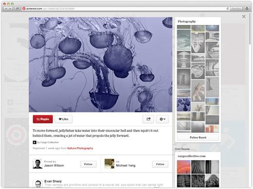 pinterest new redesign -2- unpocogeek.com