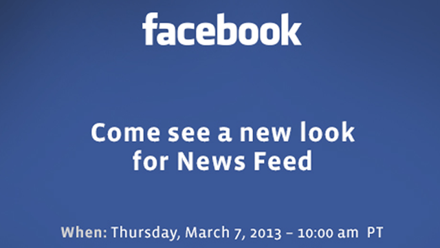 Un nuevo rediseño de Facebook esta semana
