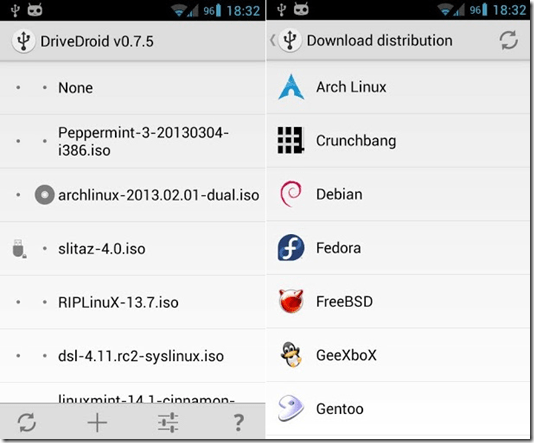 drivedroid boot linux from your smartphone - unpocogeek