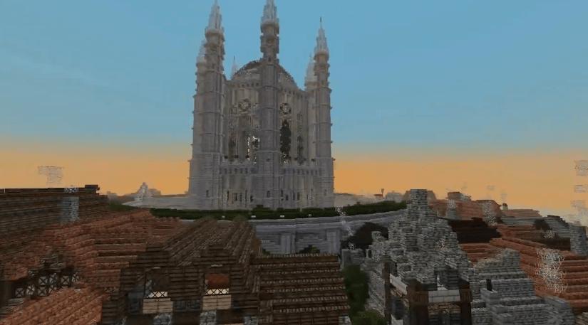Intro de Game of Thrones realizado con Minecraft