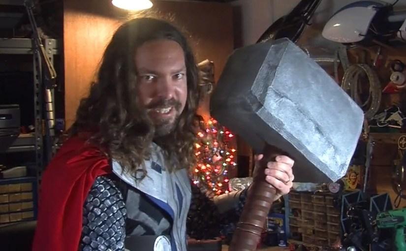 Un martillo de Thor casero…