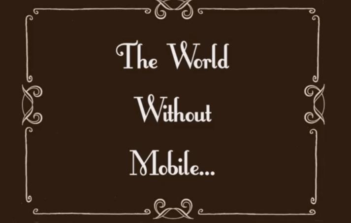 El mundo sin tecnología móvil