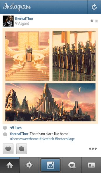 thor instagram - unpocogeek.com