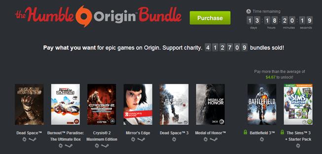 the origin humble bundle - unpocogeek.com