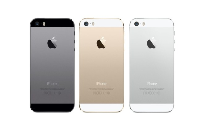 iphone5s all colors - back - unpocogeek.com