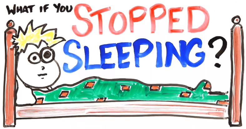 ¿Qué pasaría si dejáramos de dormir?