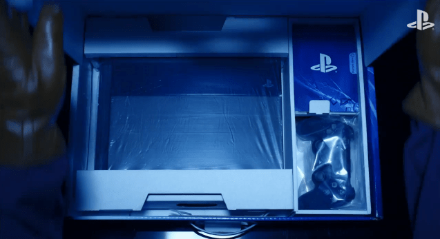 Unboxing de una PlayStation 4