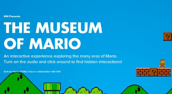 el museo de mario - unpocogeek.com