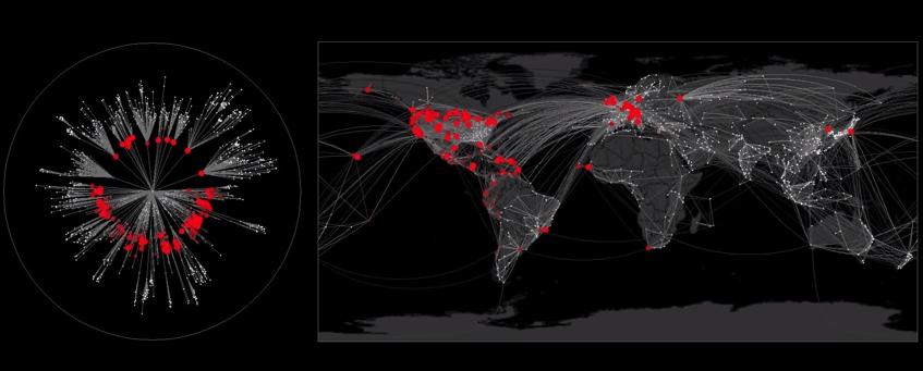 ¿Cuán rápido se esparciría una epidemia?