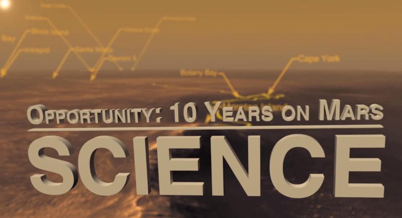 10 Años de Opportunity en Marte