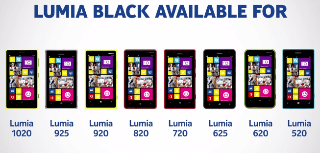 Lumia Black, nueva actualización para teléfonos Windows Phone