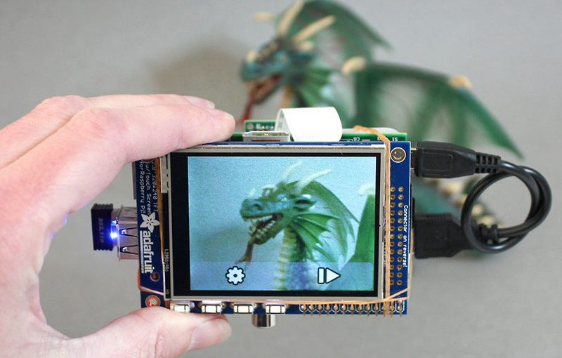 Crea tu propia cámara digital con una Raspberry Pi