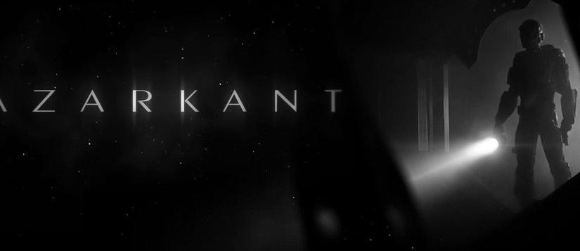 AZARKANT, corto de ciencia ficción en el espacio