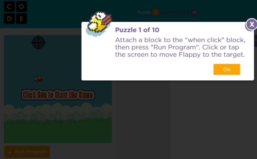 Aprende a programar creando tu propio juego estilo Flappy Bird