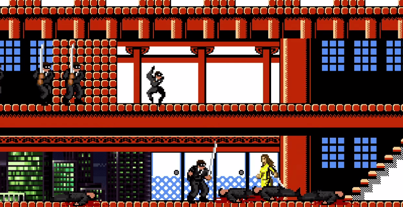 Kill Bill 1 y 2 recreadas en 8 bits