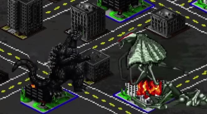 Godzilla    8 Bit Cinema   - unpocogeek.com